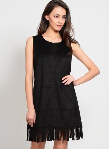 Cherry Paris Elbise Siyah
